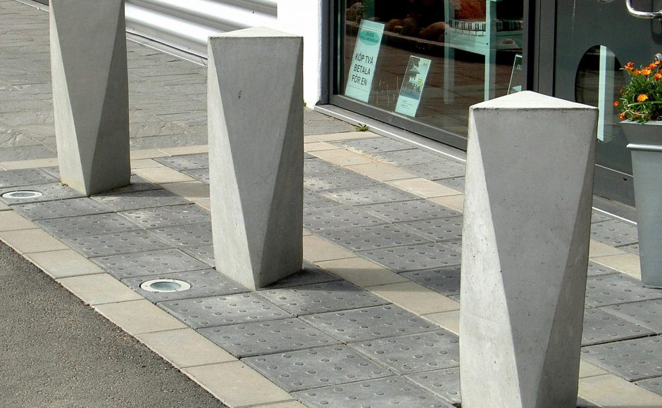 How To Safely Implement Concrete Bollards